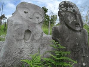 Patung megalitik Palu Sulawesi Tengah
