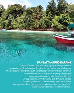 Fasilitas Wisata Pantai Tanjung Karang
