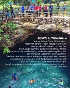 Misteri tempat wisata di Sulawesi Pusat Laut
