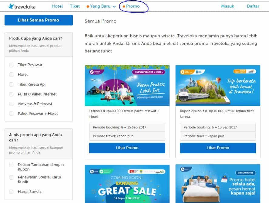 Strategi Mencari Tiket Pesawat Murah Promo Dari Traveloka Wisata Palu