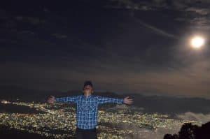 Keindahan Puncak Gunung Matantimali
